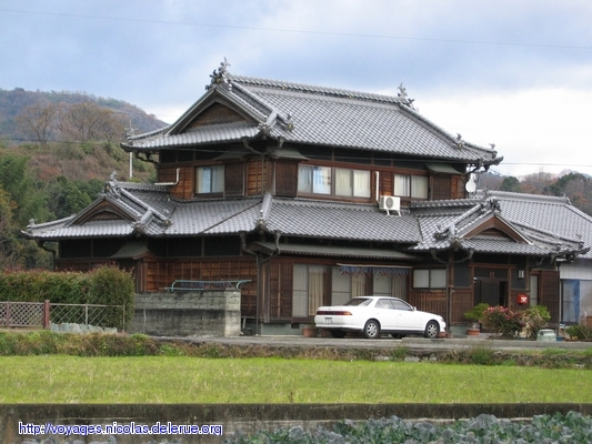 A few pictures of old buildings and houses in japan Asian style homes